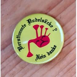 """Button """"Verstimmte Dudelsäcke"""""""